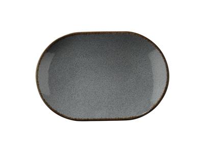 Tallerken rekt Ø 36 cm Pearl blå