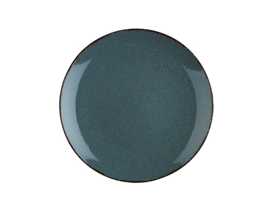 Tallerken flad Ø 25 cm Pearl blå