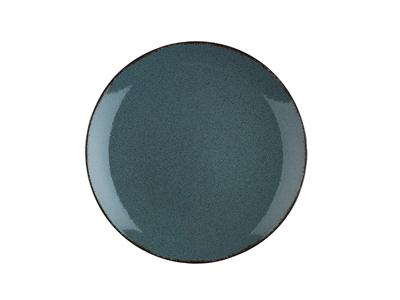 Tallerken flad Ø 21 cm Pearl blå