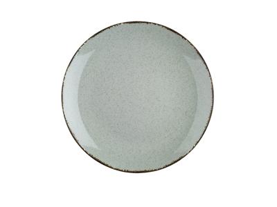 Tallerken flad Ø 21 cm Pearl grøn