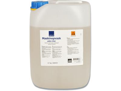 Maskinopvask uden klor Automatisk dosering 12kg.