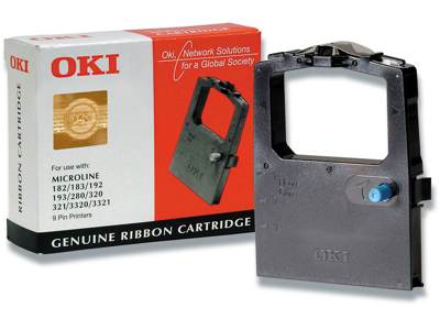 OKI printerbånd 182/183/192/193/320/321