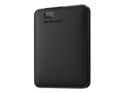 Western Digital WD Elements Portable ekstern harddisk 1000 GB Sort