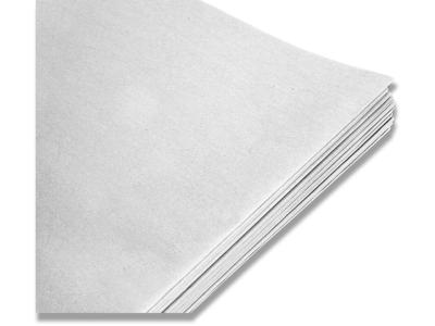 Silkepapir hvid 50x70cm 17g 480ark/pak