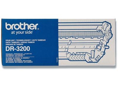 Tromle, Ingen farve, 25.000 sider, Brother, Brother DR-3200