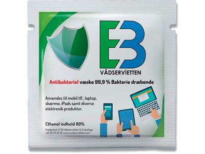 Overfladedesinfektion, Servietter, 50 stk, Enkeltindpakket, EB