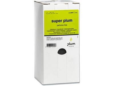 Håndrens, hvid, uden farve, parfume og opløsningsmiddel, 1400 ml, Plum Super