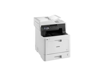Brother DCP-L8410CDW multifunktionsmaskine Laser A4 2400 x 600 dpi 31 sider pr. minut Wi-Fi
