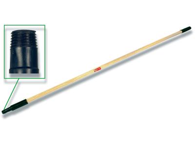 Skaft med gevind, 1550mm, Ø25mm, træ, 1 stk, Vikan Classic