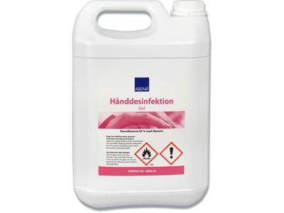 Hånddesinfektion, Gel, 5 liter, Dunk, Abena 85%