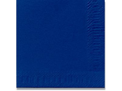 Servietter, 33x33cm, 500 stk, Mørkeblå, Duni