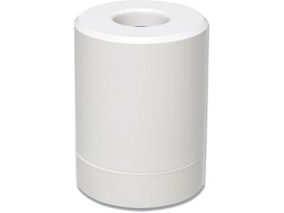 Clipsholder, Med magnet, Hvid, Plast, Bantex Vision
