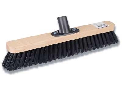 Fejekost, 40 cm, Sort, Træ, Medium børstehår, Abena