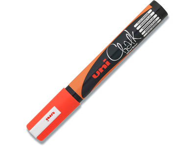 Kalk marker, 1.8-2.5 mm, 1 stk, Fluo orange, uni Chalk PWE-5M