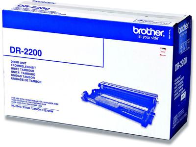 Tromle, Ingen farve, 12.000 sider, Brother, Brother DR-2200