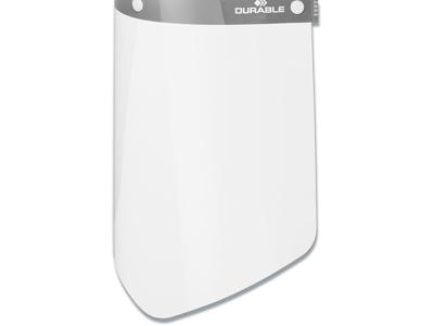 Ansigtsvisir, Ekstra skærm, CE-mærket, 10 stk, Durable