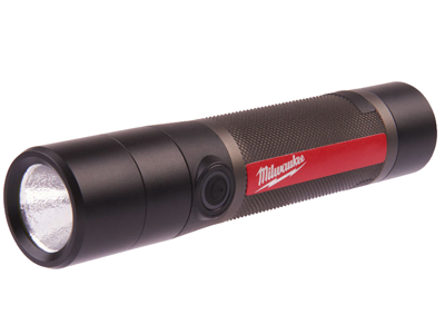 Milwaukee USB-genopladelig metal LED-lommelygte