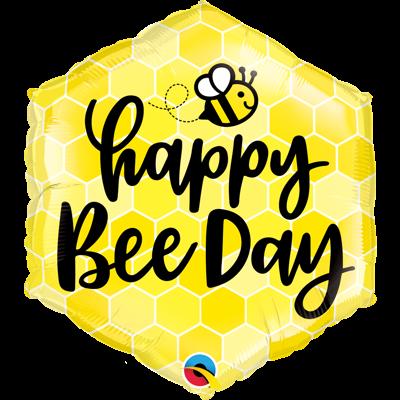 HAPPY BEE DAY BALLON
