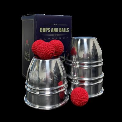 CUPS AND BALLS - aluminium
