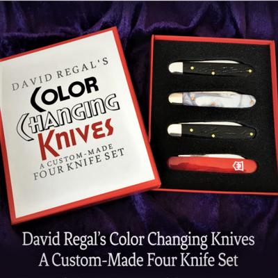 COLOR CHANGING KNIVES - David Regal