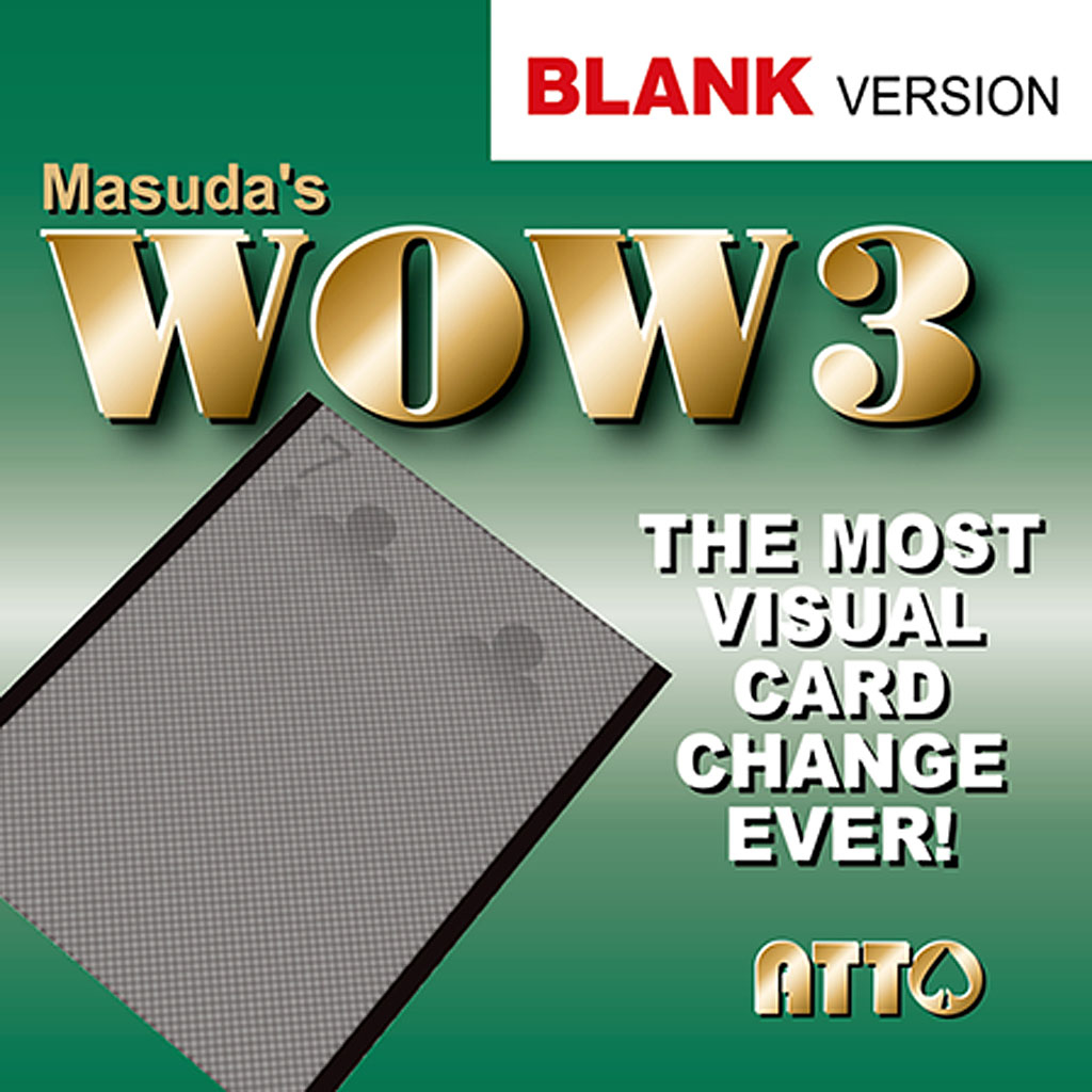 WOW 3.0 BLANK - Masuda