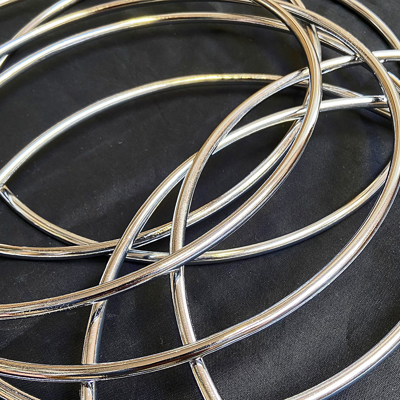 THE CHINESE LINKING RINGS - 25 cm.