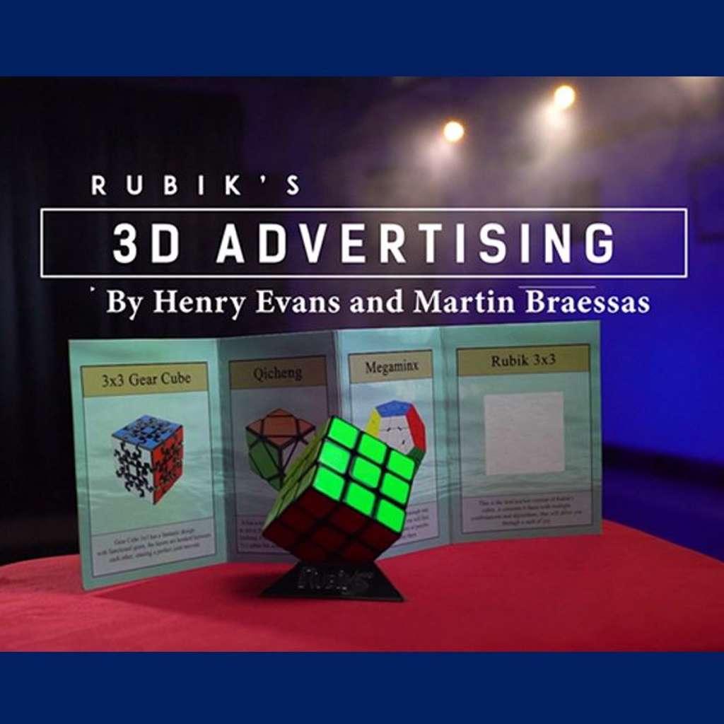 RUBIK'S 3D ADVERTISING - Henry Evans