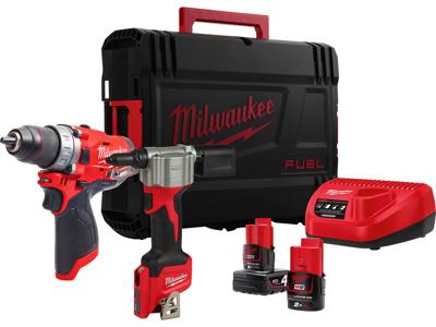 MILWAUKEE M12 FPP2S-422X POWERPACK