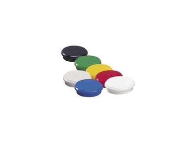 Magnet Dahle ass. farver pk. med 10 stk.