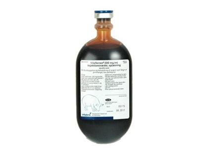 ViloFerron 20%  10 x 100 ml plastflaske