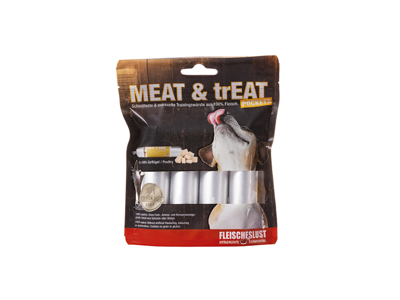 Meat & Treat pocket fjerkræ 4 x 40 g