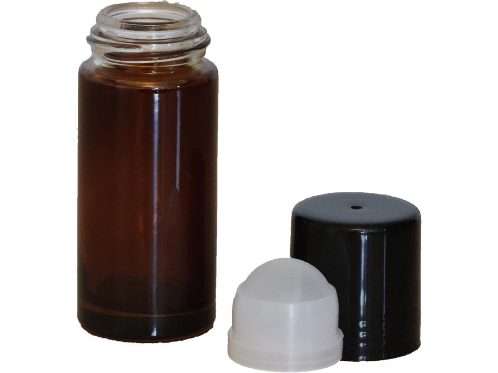 Brun glas deodoranthylster 50 ml