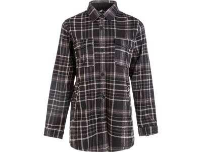 Whistler - Milly W Checked Fleece Shirt - Skjorte dame - Black