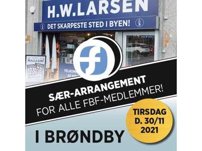 Billet t/Forbrugsforenings event i Brøndby