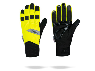 BBB WaterShield - Vintersykling Hansker - Neon Yellow - Long