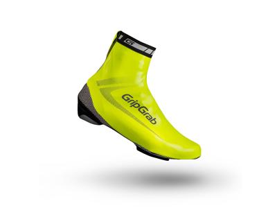 GripGrab - Race Aqua Hi-Vis - Skoöverdrag - Stl. Small (38-39) - Neongul