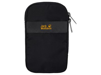Jack Wolfskin Smart Protect - Polstret taske 5 tommer - Sort