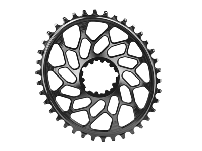 absoluteBLACK Oval klinge - Sram - Direct mount - 44 tænder - Sort