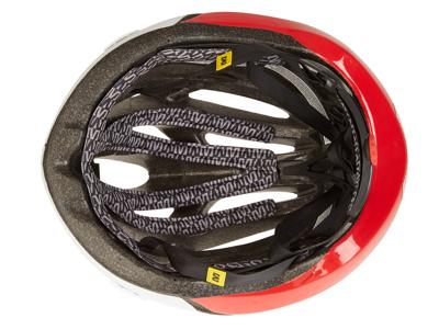 Cykelhjelm Mavic Plasma - Hvid/rød