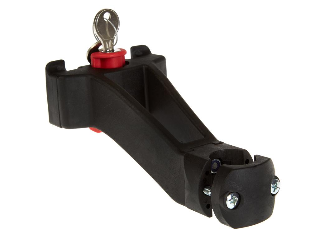 Adapter till styrstam med lås KLICKfix