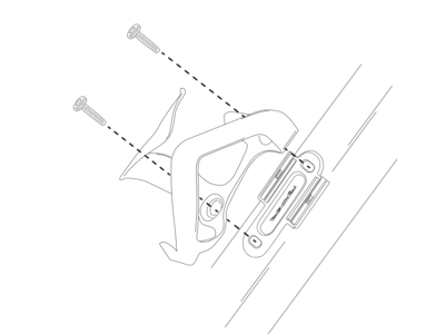 Ryder Slyder - Hållare med 2 hylsor till 16 grams Co2 patroner