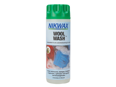 Nikwax Wool-Wash - Vaskemiddel til uld - 300 ml