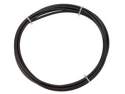 OnGear - Yderkabel til bremse - 5 mm - Længde 3 meter - Sort