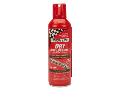 Finish Line - Dry Lube Teflon - Olie på spray - 244 ml -  Rød