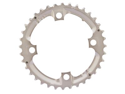Shimano Deore klinge - 36 tands sølv - Type FC-M532 - 9 gear