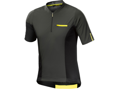 Mavic XA Pro Jersey - MTB Cycling Jersey - Grey / Black
