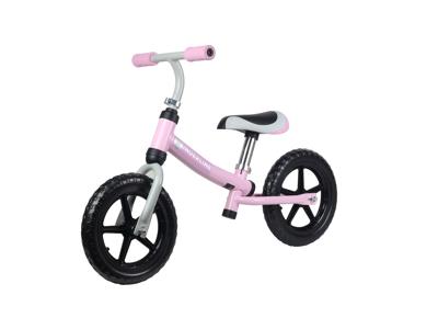 """Kinderline II - Løbecykel - Med 12"""" EVA foam dæk - Pink"""