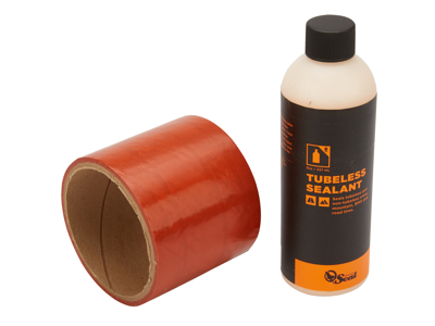 Orange Seal Tubeless Kit - 75 mm fælgtape - 237 ml. Regular væske