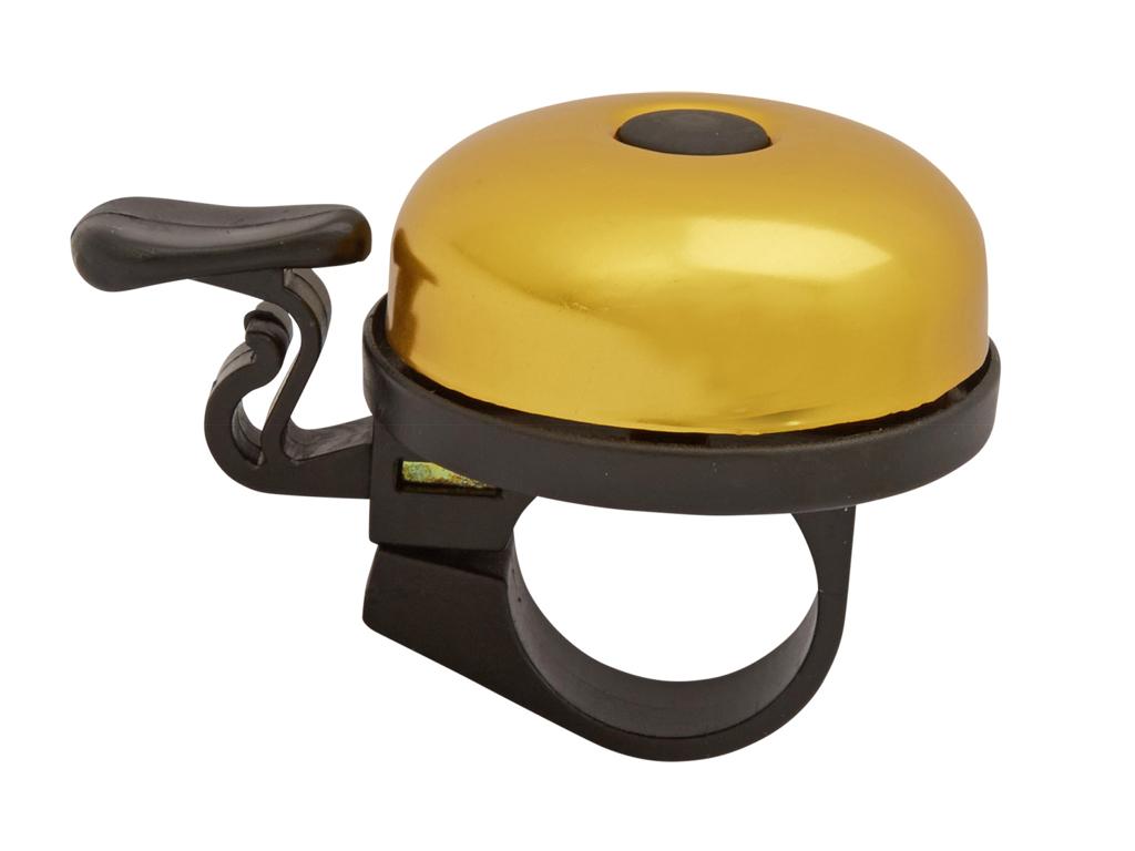 Image of   Atredo - Ringeklokke - Med plasthammer - Guld