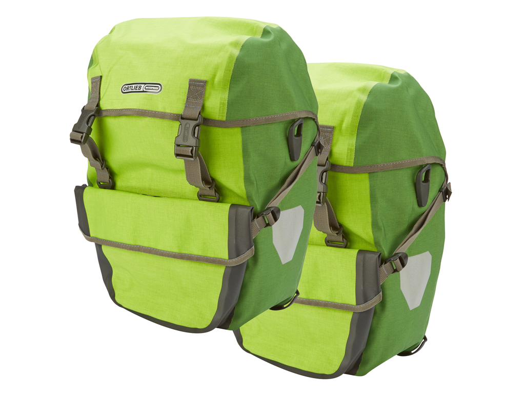 Image of   Ortlieb - Bike-Packer plus - Lime/Grøn - 2 x 21 liter